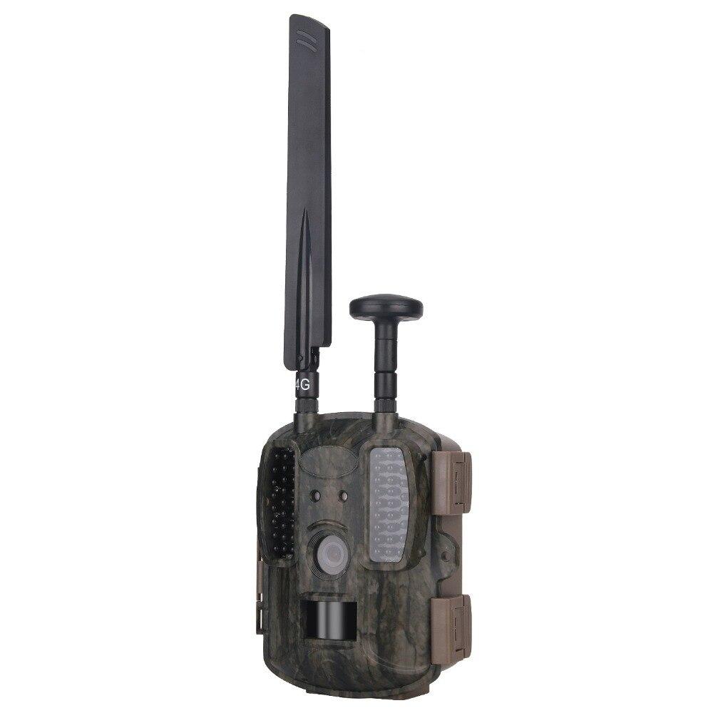 Livraison Gratuite 4G caméra de Chasse GPS FTP Infrarouge vision nocturne Caméra Chasse Photo Pièges Caza Cachée WildKamera Pour La Chasse Cames