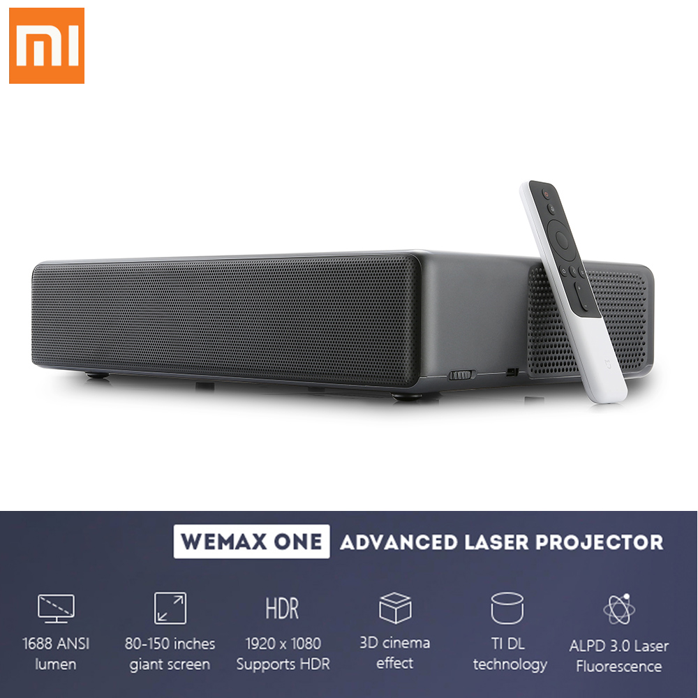 Xiao mi Laser 1688 ANSI 7000 Lumens projecteur Android WEMAX ONE PRO TV 150