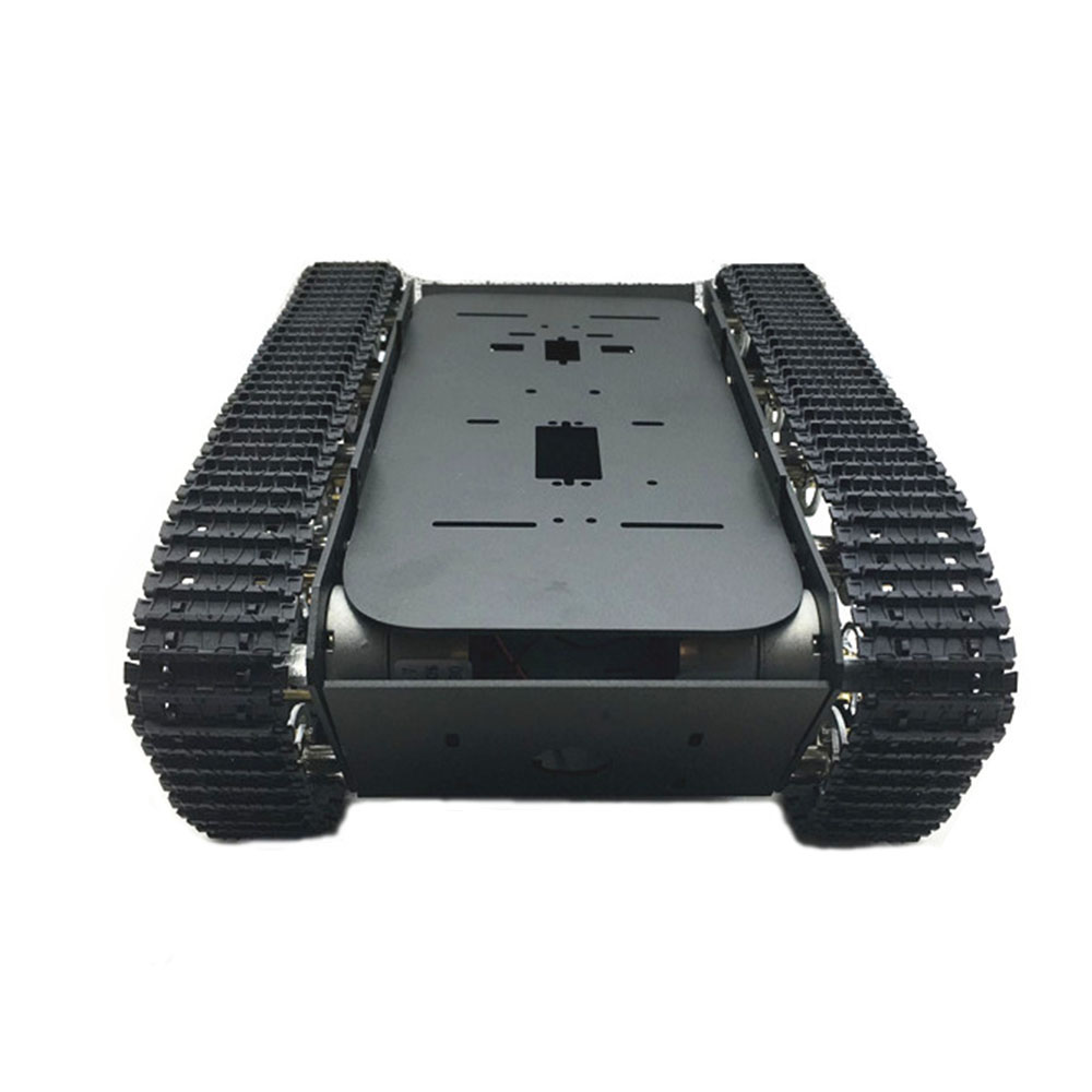 DIY A-13 Smart RC Robot Car Chassis Aluminous Plastic Crawler Belt Tracked Tank Chassis
