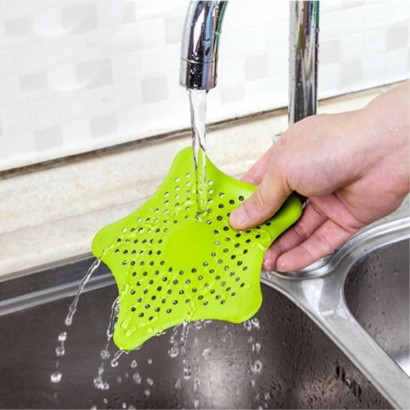 Creative Kitchen Drains Sink Strainers Filter Sewer Drain Hair Colander Kitchen Sink Accessories Bathroom Cleaning Tool