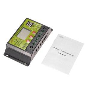 Image 5 - 20A 12 V/24 24V PWM ソーラー充電コントローラ Lcd レギュレータソーラーパネルバッテリーランプ過負荷保護