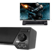 Multifuncional TV Speaker Home Theater Soundbar Bluetooth 4.2 Wireless Sound Bar Speaker System AUX TF Card FM Speaker &1124