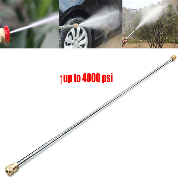 21 Inch 4000PSI Car Washer Sprayer Extension Lance For Power Pressure Washer Water Pumps Extension Lance