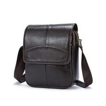MIWIND 100% Genuine Leather Men Bag Luxury Brand Designer Vintage Business Messenger Bags Shoulder Crossbody Bag Men Male Bag