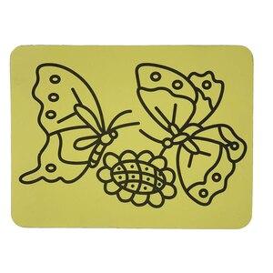 Image 3 - Ücretsiz kargo 2000 adet/lot kartları Renkli Kum için art_15x21cm sıcak satış