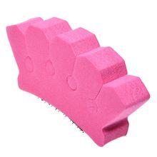 1 DIY Fashion Hair Dish Sponge Clip Hair Braiding Tool Large(Pink) convenient durable sponge bud sculpt dish hair tool