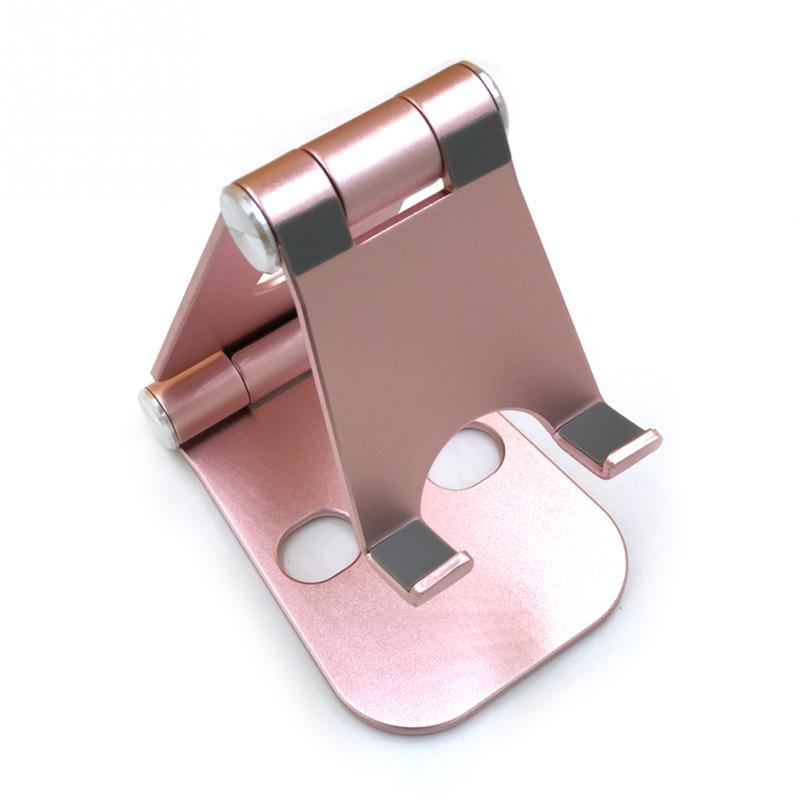 Universal Folding Tablet Bracket Rotating Base Mental Mobile Phone Holders Geometric Figure Mounts Accessories