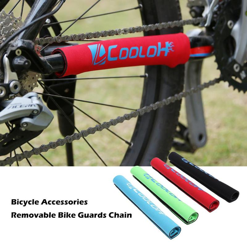 1PCS Cycle Brand Durable Cycling Chain Stay Bike Bicycle Guard Cover Frame Black Protector Bicycle Stickers 4 Colors