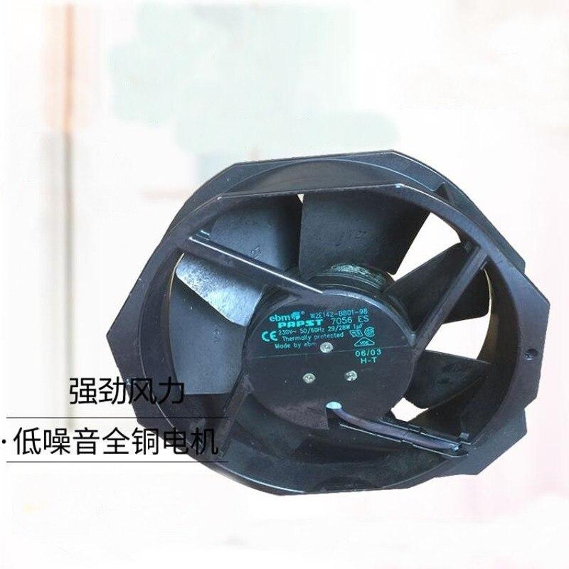 Ventilateur de refroidissement à haute température tout-métal à ca 230 V de W2E142-BB01-98 Original d'emb Papst