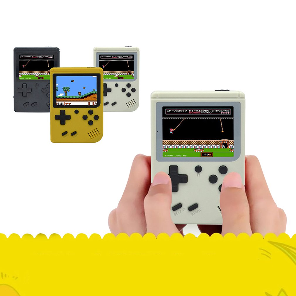 168 Classic Games Mini Pocket Handheld Game Player Video Game Console Retro Built-in Child Nostalgic Player Best Gifts For Kids