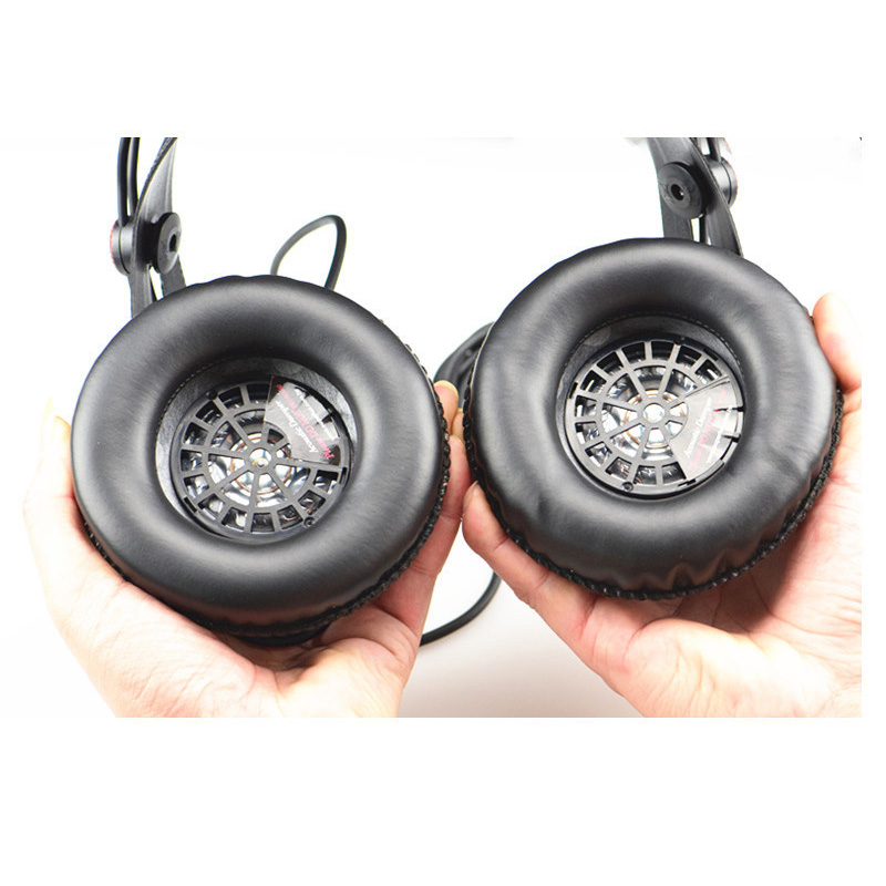 LEORY 1 Pair Replacement Foam Ear Pads for Superlux <font><b>HD668B</b></font> HD681 HD681B HD662 Headset Cushion Cups Cover Headphones image