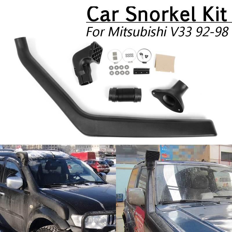 1 Set de pièces de prises d'air en plastique ABS pour voiture Kit de plongée automatique pour Mitsubishi Pajero/Shogun Kit de plongée 90-99