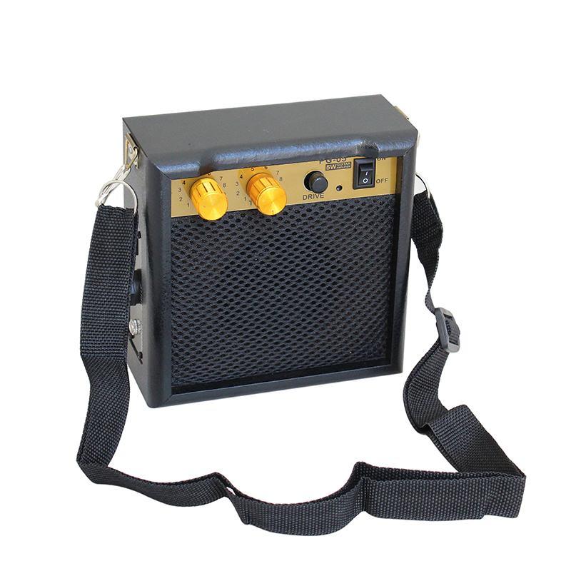 leory pg 05 5w dc 9v electric guitar amplifier speaker mini guitar amp with shoulder strap for. Black Bedroom Furniture Sets. Home Design Ideas