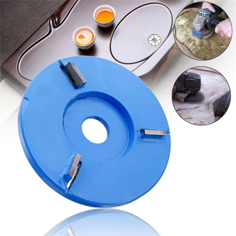 Woodworking Wood Disc Carving Corner Grinder Tea Tray Blade For 16mm Aperture Angle Grinder
