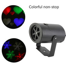 Multi-Color Christmas Outdoor Waterproof LED Laser Projector Snowflake Dj Disco Light For Home Decoration