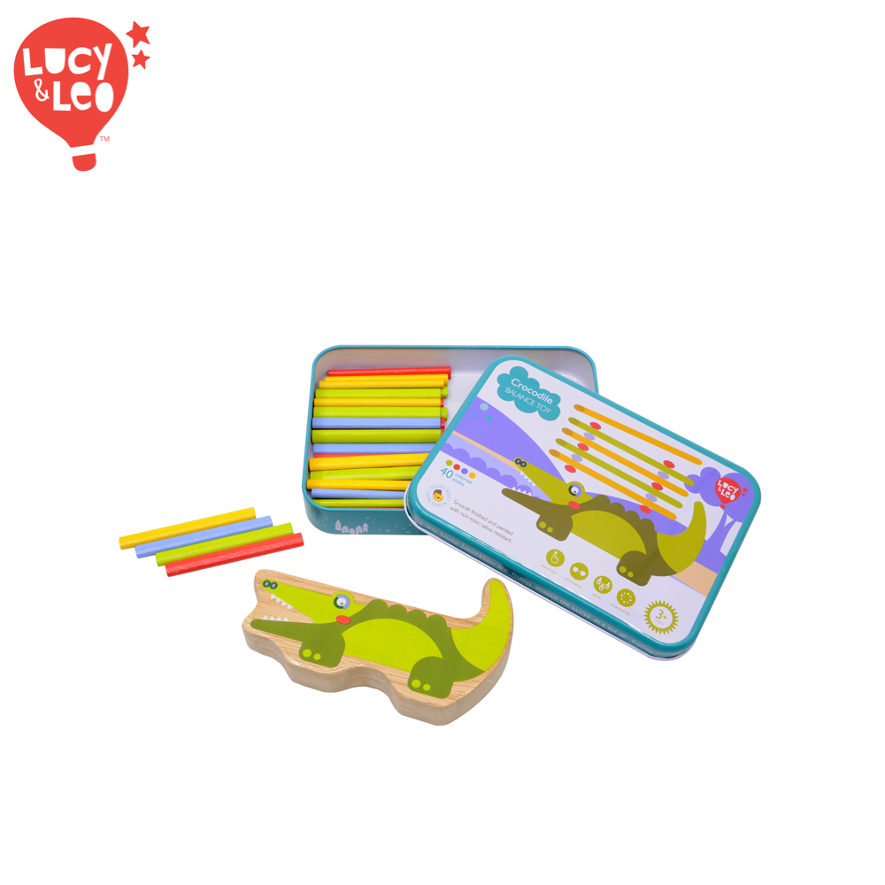 Wooden Blocks Lucy&Leo LL191 childrens educational toy wooden blocks lucy
