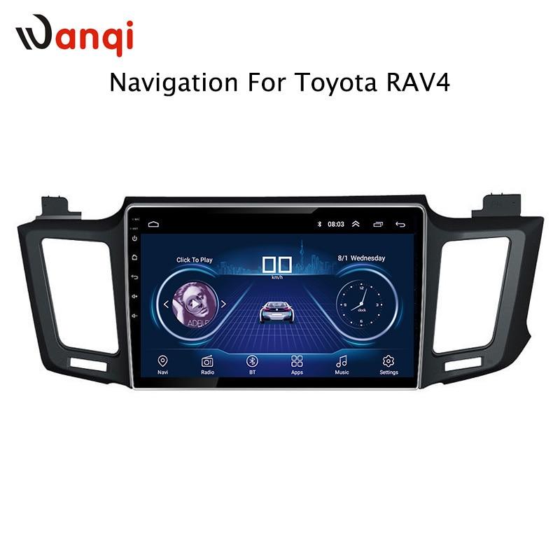 10 pouces Android 8.1 autoradio pour Toyota RAV4 2013-2018 auto lecteur multimédia avec wifi bluetooth gps navigation système