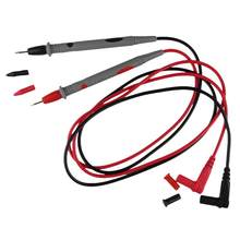 1.1 M Universal Multimeter Probe 1000V 10A Uji Lead Kabel untuk IC Pin Anti-Slip Grip Portable Grip pengukuran Alat Aksesoris(China)