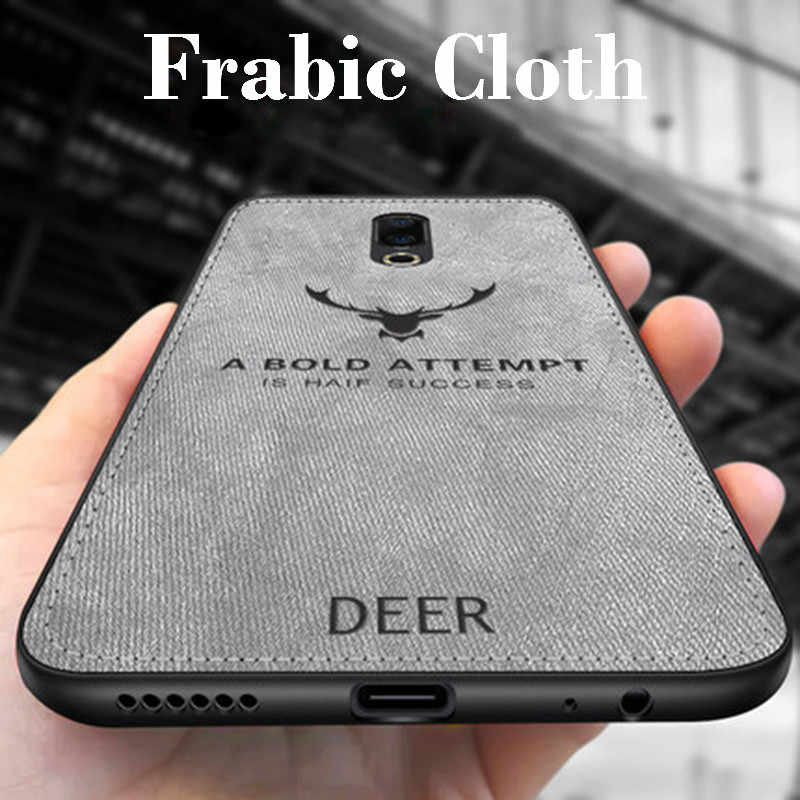 Deer Pattern Fabric Case For Meizu Meilan Note 9 8 6 5 M16 15Plus M16X V8 Pro X8 Soft Cloth Cover For Meizu M8 M6 M5 M9 Note M6S