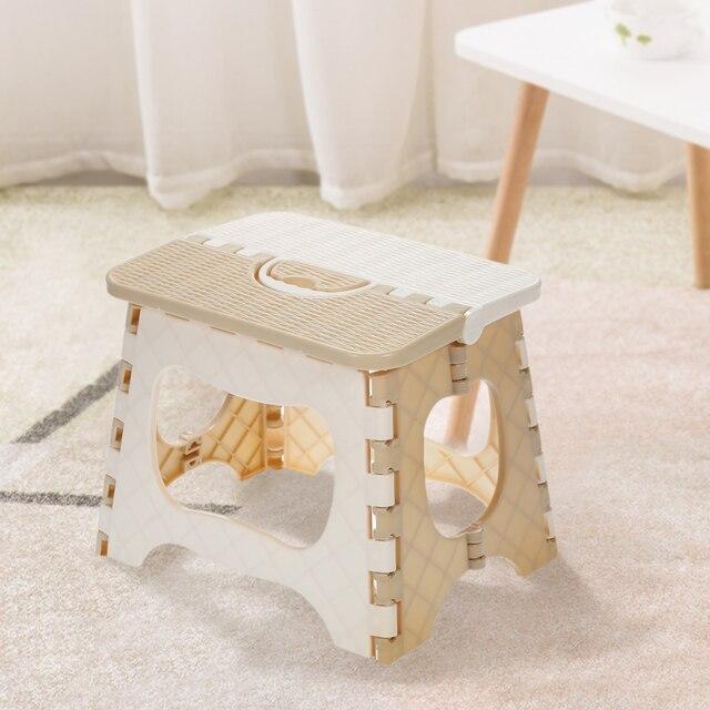 Пластмассовый складной стул портативный складной стул маленькие дети мебель для дома ребенок удобный стул для кормления
