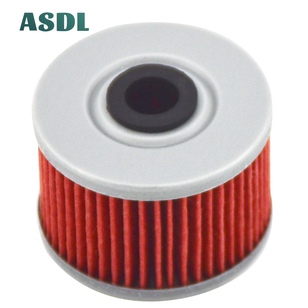 Motorcycle Oil filter For Honda ATV ATC250 ES Big Red ATC350 TRX250 TRX300 TRX400 TRX700 <font><b>ATC</b></font> 250 350 TRX 250 300 <font><b>400</b></font> 700 image