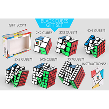 Mofangjiaoshi MFJS Package Set Gift Cube  Cubing Classroom 2-7 Steps Magic with Box Packaging for Brain Toys