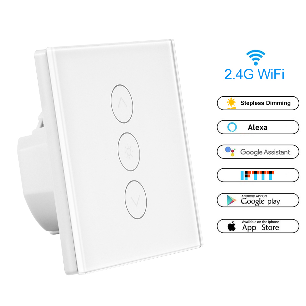 Smart Touch Screen Sensor Switch Dimmer LED Light Lamp