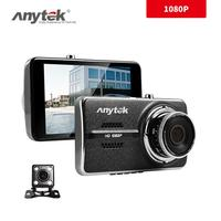 For Anytek G70B 4.0 Inch Display Surveillance Camera Ultra High Definition 1080P Front And Rear Dual Recording Automobile Data R