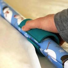 Рождественский подарок обёрточная Бумага Резак скользящий резак для оберточной бумаги обертывание пинг рулон бумаги Резак режет префект линии каждый раз