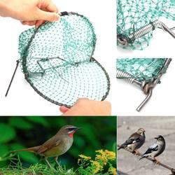 20 センチメートル鳥ネット効果的な動物愛護ライブトラップハンティングセンシティブウズラ動物愛護トラップ狩猟ガーデン用品害虫駆除