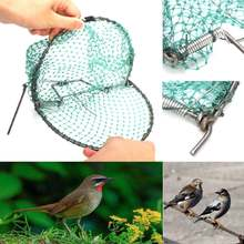 20cm Heavy Duty Bird Net Effective Humane Live Trap Hunting Sensitive Quail Humane Trapping Hunting Garden Supplies Pest Control(China)