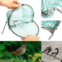 20cm Heavy Duty Bird Net Effective Humane Live Trap Hunting Sensitive Quail Humane Trapping Hunting Garden Supplies Pest Control