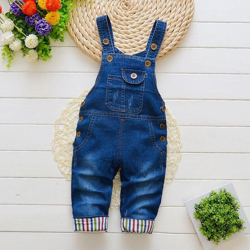 Kleinkind Jungen Mädchen Jeans Overall 2018 Herbst Kinder Kleidung Kinder Denim Overalls Baby Hosen Strampler Salopette Fille Latzhose Mutter & Kinder