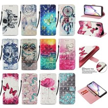 Luxury 3D Painted Wallet Leather Case For Xiaomi Mi 8 A1 A2 5X 6X lite Max3 Redmi Note 4 4X 4A 5 5A 6 Pro S2 Plus Phone Cover