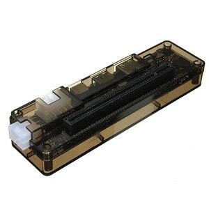 Image 5 - Hot V8.0 EXP GDC الوحش محمول خارجي مستقل بطاقة الفيديو حوض NGFF دفتر PCI E التوسع