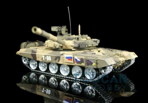 Henglong 1 16 6 0 Generation Infrared Fighting T90 RC Tank 3938 360 Turret Rotate Metal