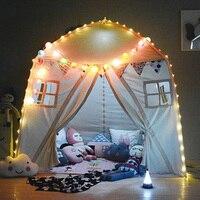 100% хлопок детская комната детская палатка крытый Открытый Playhouse игры вигвама игрушки для новорожденных девочек мальчиков подарки на день р
