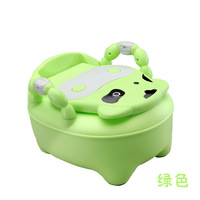 Children Travel Toilet Baby Training Potty 0 6 Years Toddlers Cow Dog Pattern Cute Toilet Drawer Urinal Potty Girls Boys Toilets
