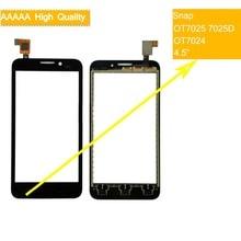 10Pcs/lot For Alcatel One Touch Snap OT7025 7025D OT7024 Touch Screen Touch Panel Sensor Digitizer Front Outer Glass Touchscreen стоимость