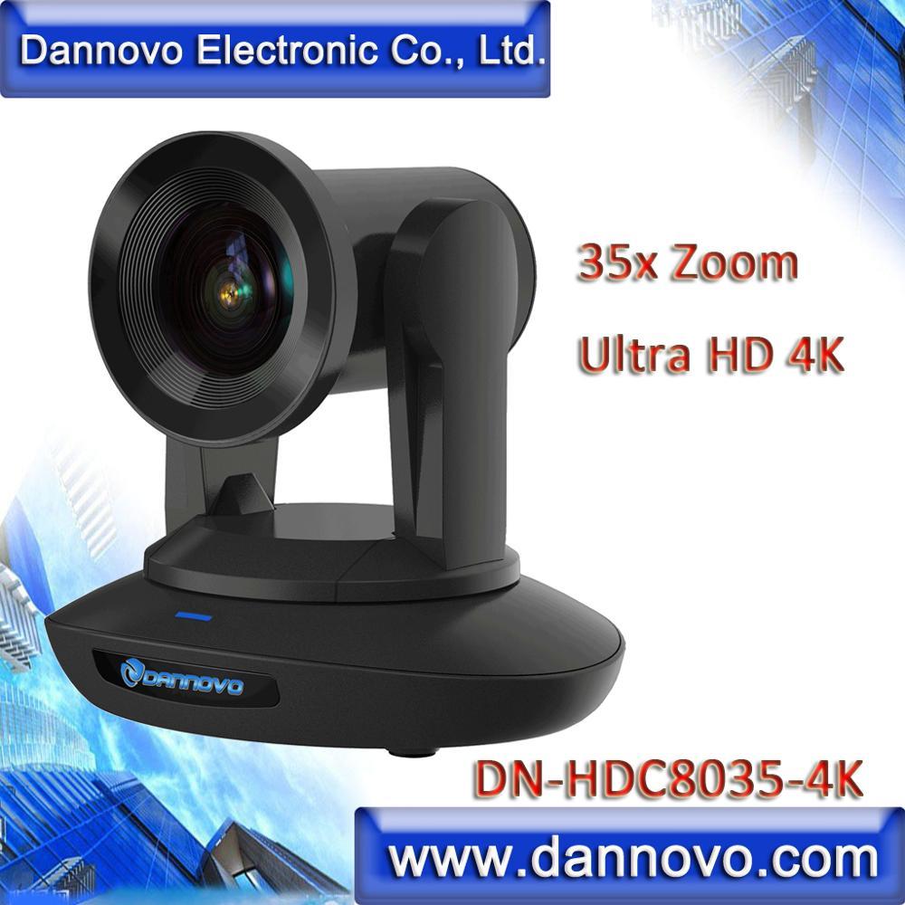 Free Shipping: DANNOVO 4K Ultra HD 35x Zoom Camera for Live Broadcasting, PoE IP Camera, SDI Conference Camera(DN-HDC8035-4K)
