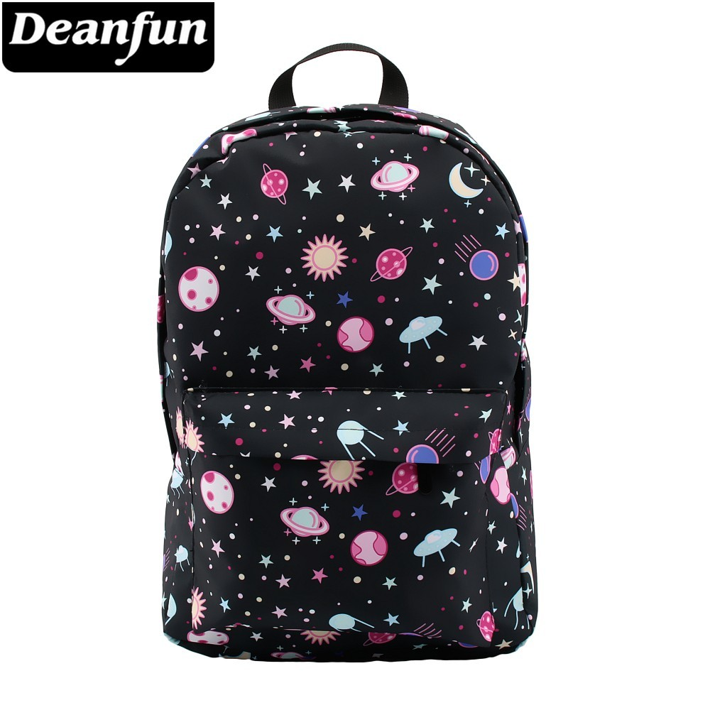 Deanfun Backpack for Girls Water Resistant  Printing Galaxy Backpacks Cute Fashion Schoolbags for Teenagers Dropshipping 0039Deanfun Backpack for Girls Water Resistant  Printing Galaxy Backpacks Cute Fashion Schoolbags for Teenagers Dropshipping 0039