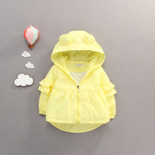 Baby Girl Autumn Winter Warm Hooded Kids Coat Infant