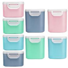 Контейнер для хранения детского питания, для хранения молока, порошка, диспенсер для путешествий, герметичный контейнер для детского питания, контейнер для закусок, PP пластик