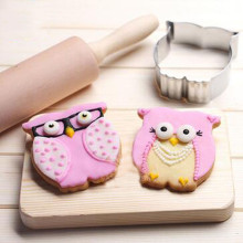 VOGVIGO Animal Suit Baking Mold for Stainless Steel Accessories Owl Decoration Tools New 2019