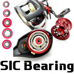 DIY SIC bearings for fishing reel(China)