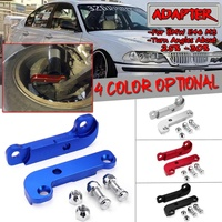 2pcs 4 Colors Car Tire Adapter Increasing Turn Angles About 25% 30% Drift Lock Kit For BMW E46 M3 Tuning Drift Power Axle Parts