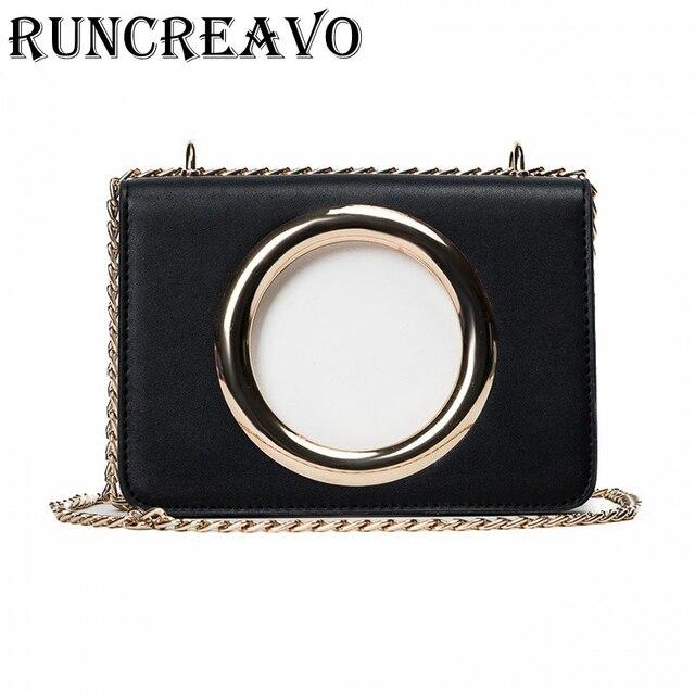 1b62f2cfa 2018 Novo estilo Coreano anel retro bolsa de couro PU saco Do Mensageiro Do  ombro com