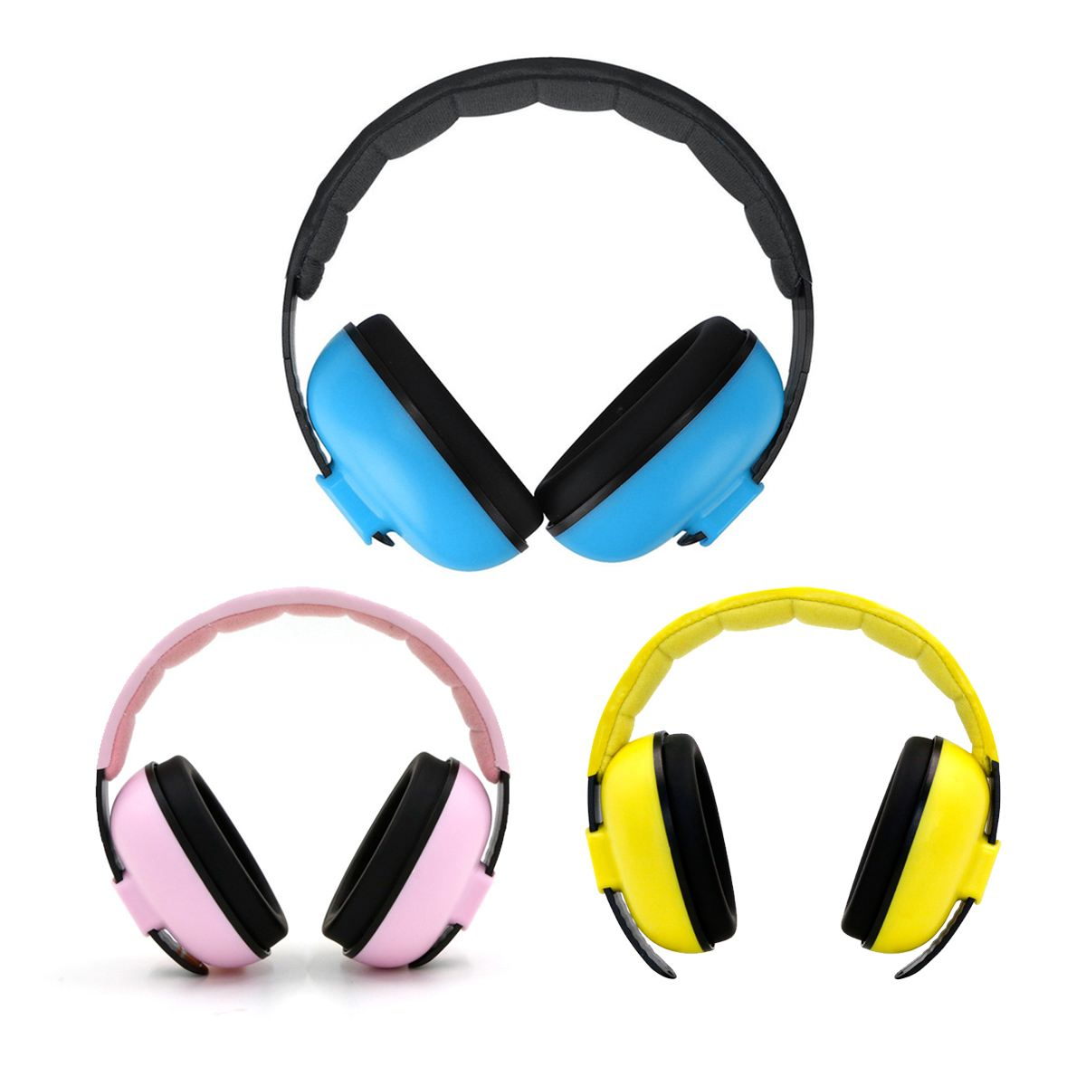 3 Colors Children Kids Ear Muffs Hearing Protection Noise Reduction Ear Protector With Ear Cover For Defenders Safety Earphone3 Colors Children Kids Ear Muffs Hearing Protection Noise Reduction Ear Protector With Ear Cover For Defenders Safety Earphone