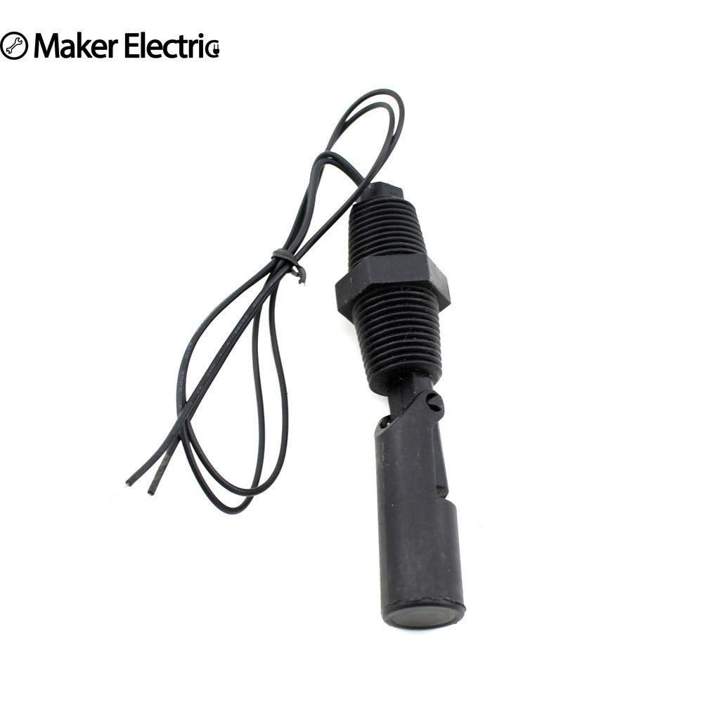 220V MK-PCFS3 Plastic Side Mounted Liquid Level Float Sensor Switch 220V 1/2
