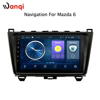 Android 8.1 Car Head Unit Radio GPS Navigation For Mazda 6 Rui wing 2008 2015 Multimedia Player